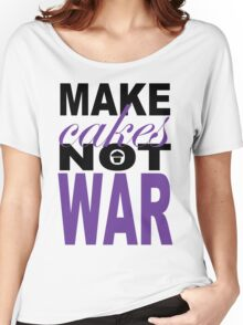 Make Cakes.2... Women's Relaxed Fit T-Shirt