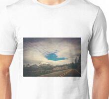 Mt Rainier from the Road Unisex T-Shirt