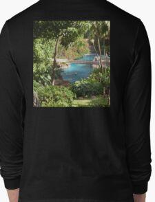 jungle pool Long Sleeve T-Shirt