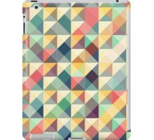 mosaic colorful retro tiles iPad Case/Skin
