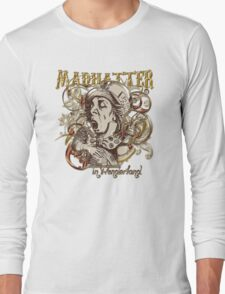 Mad Hatter Carnivale Style - Gold Version Long Sleeve T-Shirt