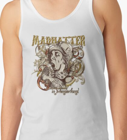 Mad Hatter Carnivale Style - Gold Version Tank Top