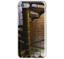 Bricks and spiral staircase iPhone Case/Skin