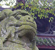 Lion of Emei by liliea