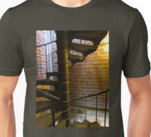 Bricks and spiral staircase Unisex T-Shirt