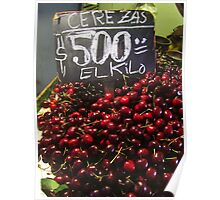 Cherries For Sale Poster