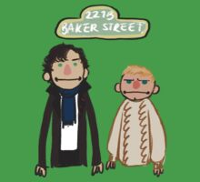 Sherlockesame Street by inchworm