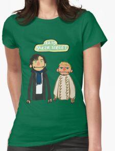 Sherlockesame Street Womens Fitted T-Shirt