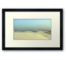 Monahans White Sand Hills ~ Desert Storm ~3 Framed Print