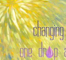 Changing Lives........ Sticker