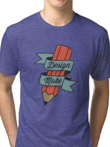 Design & Make Tri-blend T-Shirt