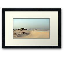 Monahans White Sand Hills ~ Desert Storm ~ 5 Framed Print