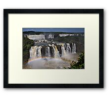 Tiered Falls Framed Print