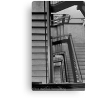 Stadium Staircase Metal Print