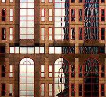 Windows with reflections by Robert Down