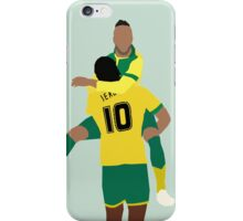 Nathan Redmond and Cameron Jerome iPhone Case/Skin