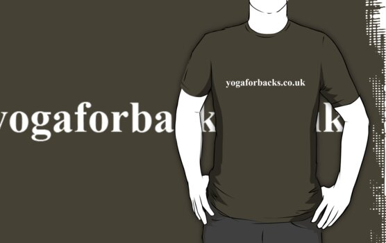 yoga for backs tee shirt by GrahamCSmith