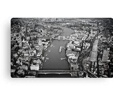 Aerial London Canvas Print
