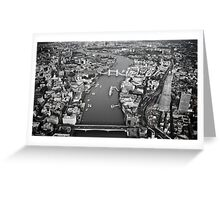 Aerial London Greeting Card