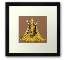 Scales of justice Framed Print