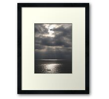 Pacific (Peaceful) Ocean - Oceano Pacifico  Framed Print