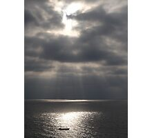 Pacific (Peaceful) Ocean - Oceano Pacifico  Photographic Print