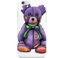 Purple Zombie Bear iPhone Case/Skin