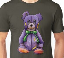 Purple Zombie Bear Unisex T-Shirt