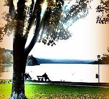 Autumn at Lake Staffelsee by ©The Creative  Minds