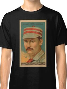 Benjamin K Edwards Collection Ed Andrews Philadelphia Quakers baseball card portrait Classic T-Shirt