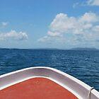Boat to Morrocoy by KJWH
