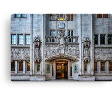 High court Canvas Print