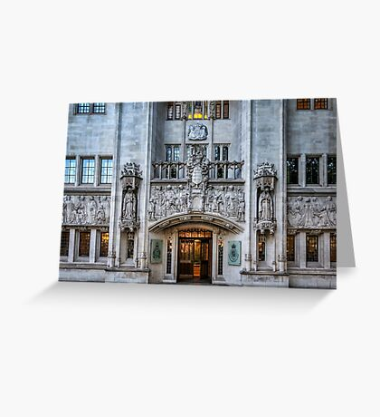High court Greeting Card