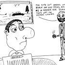 Why www servers crash editorial cartoon by bubbleicious