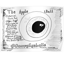 The Apple iBall editorial cartoon Poster