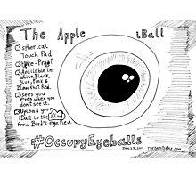 The Apple iBall editorial cartoon Photographic Print