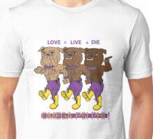 Omega Psi Phi - Love Live Die Dogs Unisex T-Shirt
