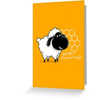 Catan You Give Me Wood? | Settlers of Catan Board Game Geek Sheep Greeting Card