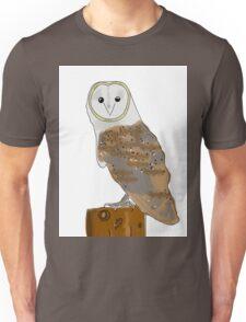 Familiar Barn owl Unisex T-Shirt