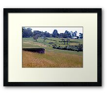 Rural South West Australia Framed Print