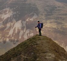 Hart Fell in the Moffat Dale valley by Pete Johnston