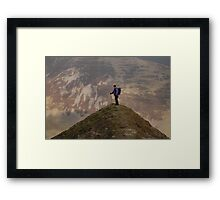 Hart Fell in the Moffat Dale valley Framed Print