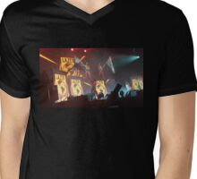 Major Lazer Girls at Mad Decent Block Party Brooklyn  Mens V-Neck T-Shirt