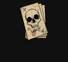 Unlucky Ace Of Spades Skull Card Unisex T-Shirt
