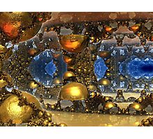Caves Of Gold Photographic Print