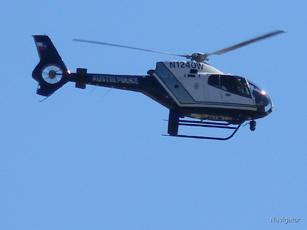 Police Helicopter by Navigator