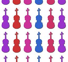 Violin Colors #2 by rontrickett