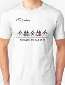 Cycling T Shirt - Riding for the ALE of it T-Shirt