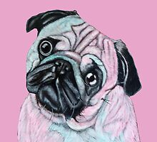 Artistic mr Pug by MNA-Art