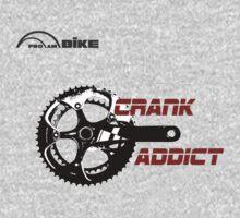 Cycling T Shirt - Crank Addict T-Shirt
